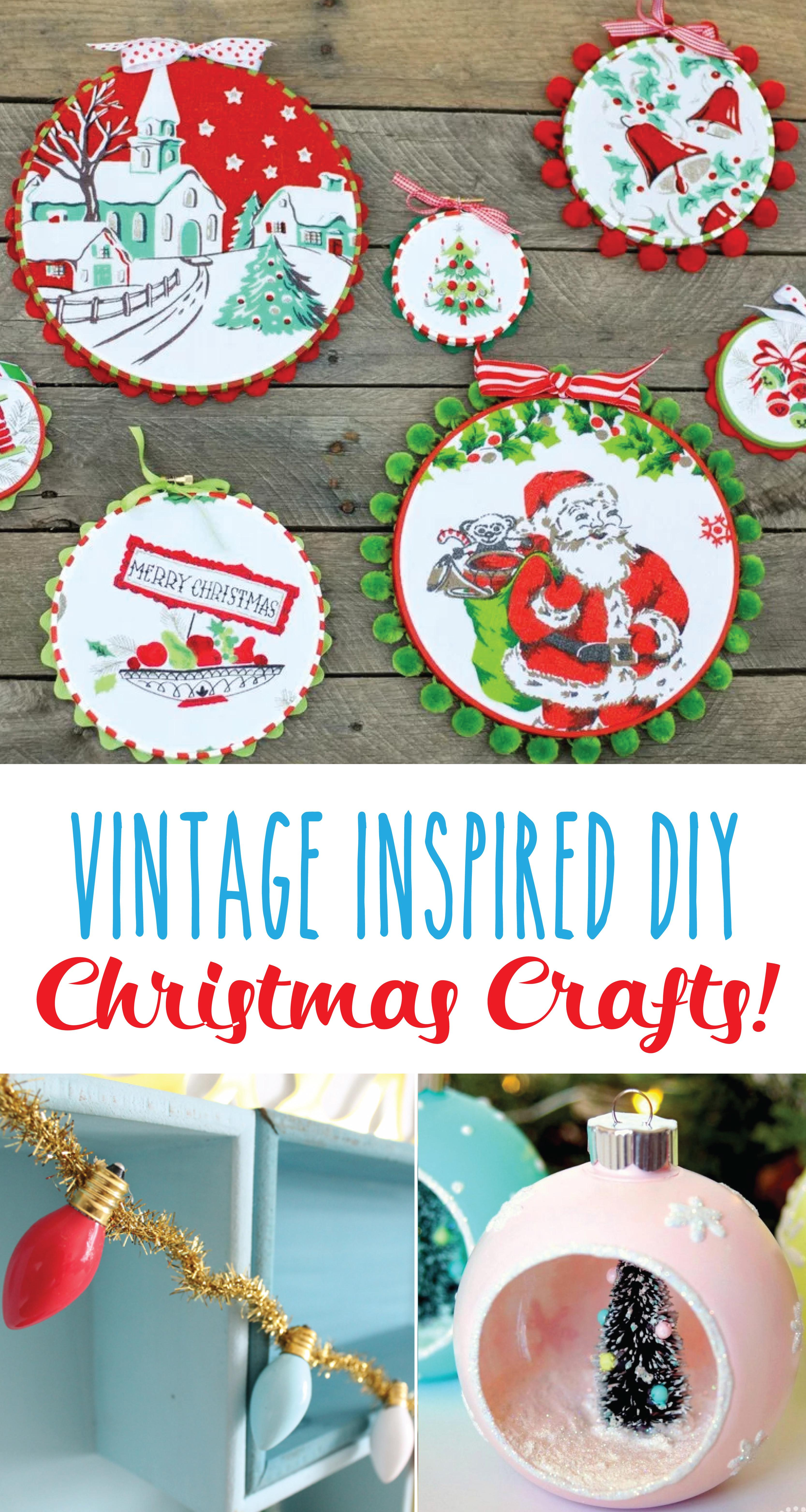 Vintage Inspired Christmas Crafts Scrap Shoppe