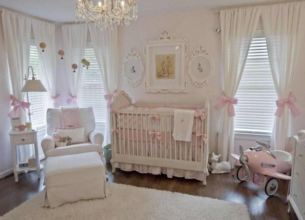 Vintage Inspired Classic Soft Pink Nursery Project
