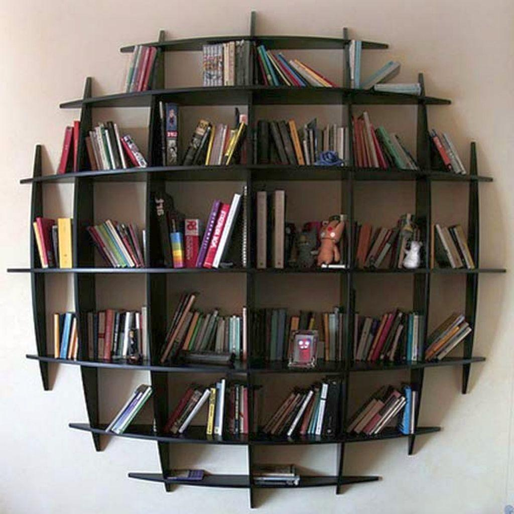 Vintage Metal Wooden Industrial Bookcase Designs