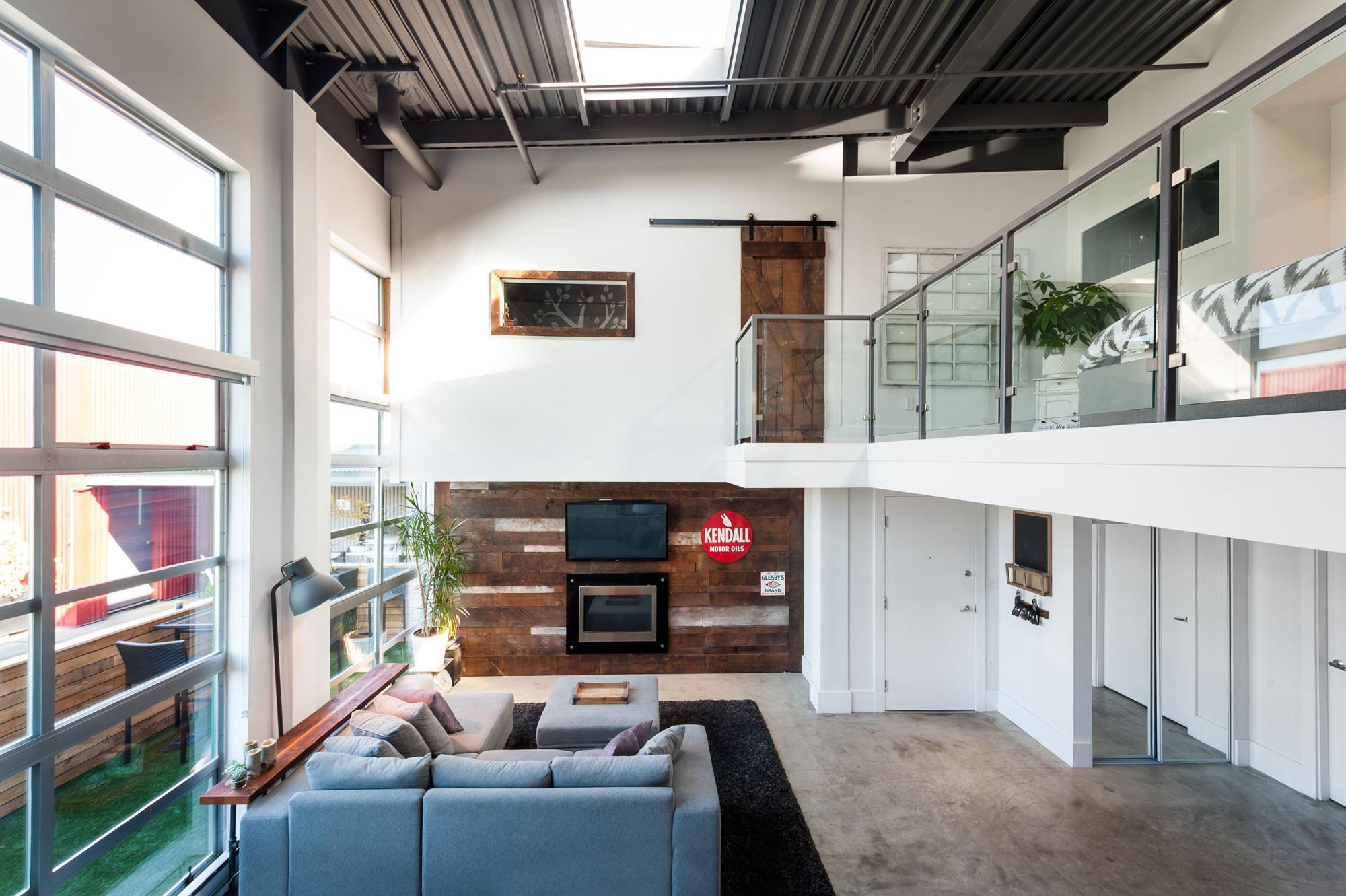 Vintage Modern Double Height Loft Vancouver