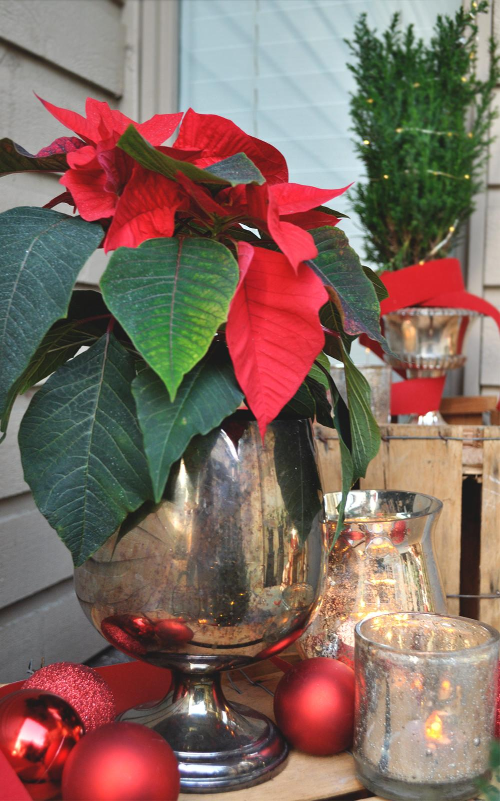 Vintage Silver Holiday Decor Salvation Army