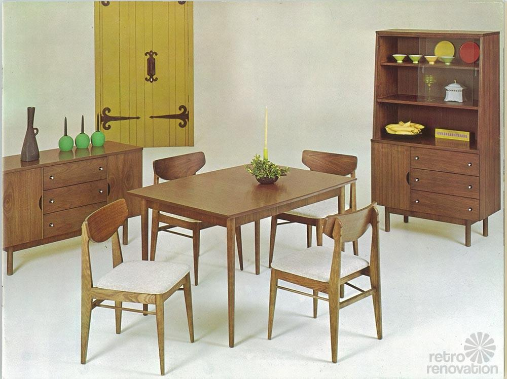 Vintage Stanley Furniture Mix Match Line Paul