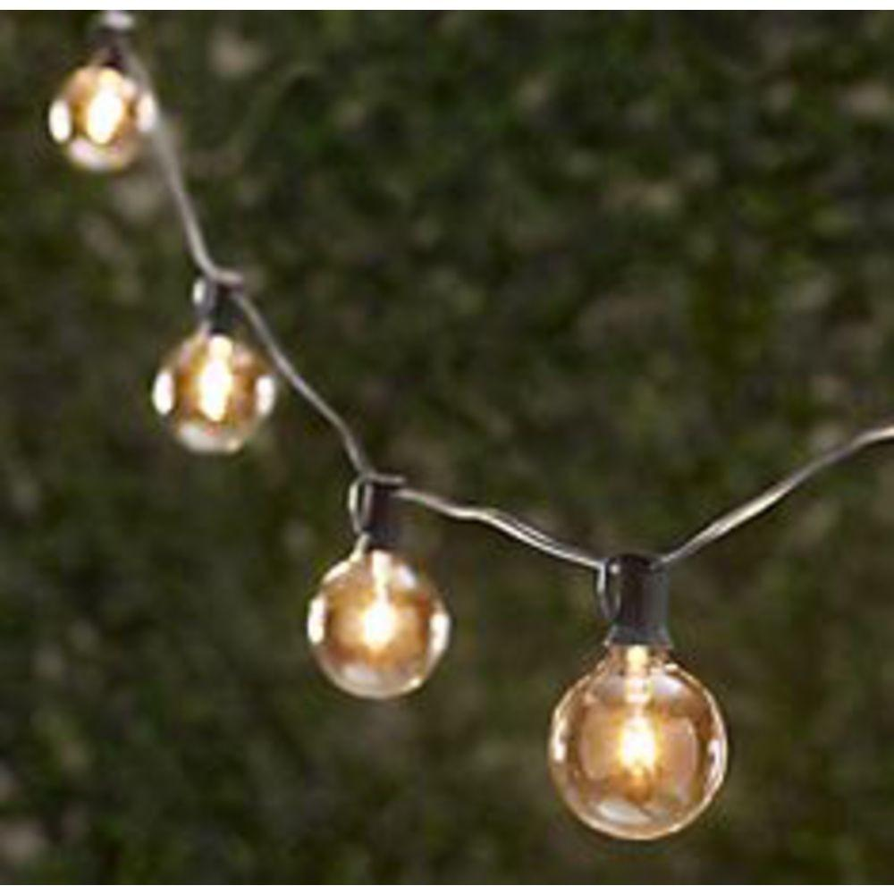 Vintage String Party Lights Feet Sockets Bulbs