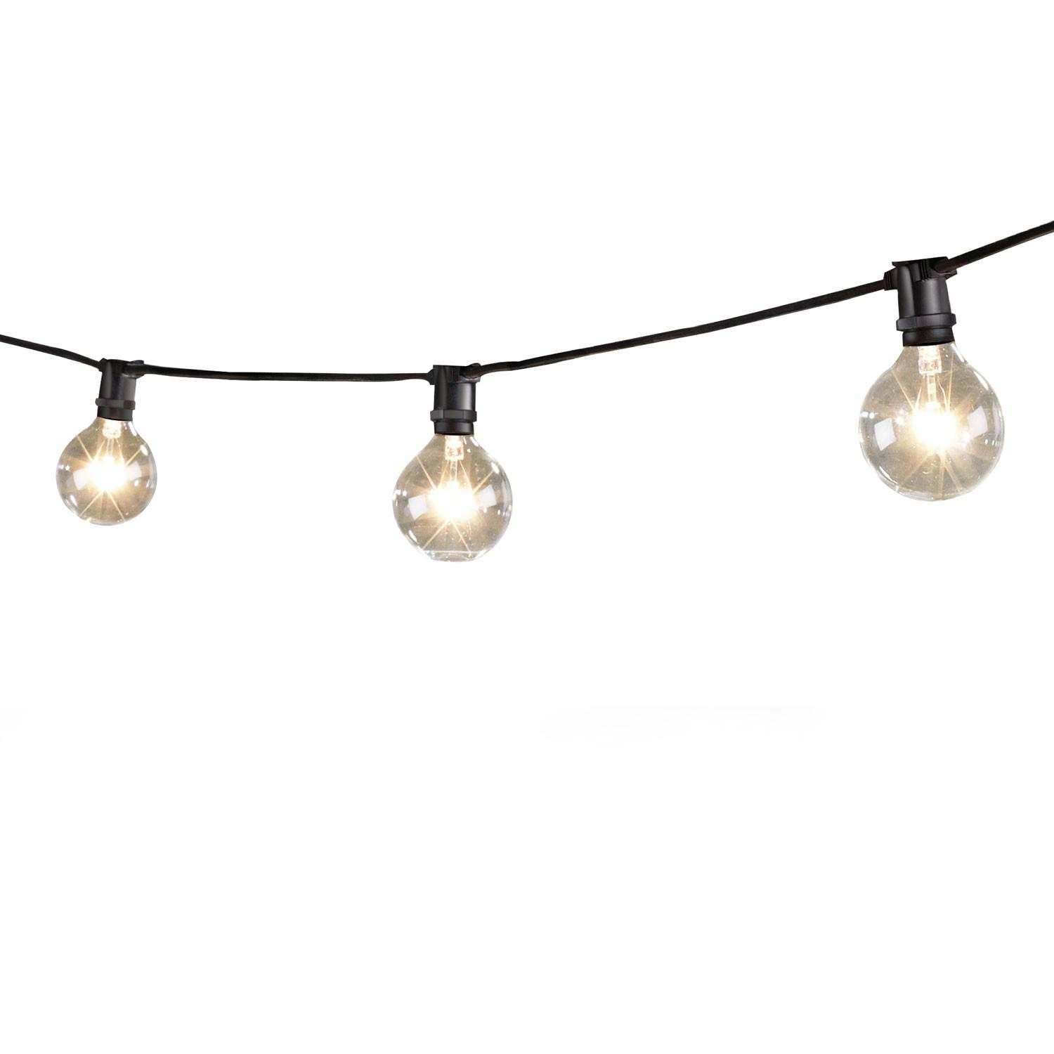 Vintage Style Outdoor String Lights Halloween