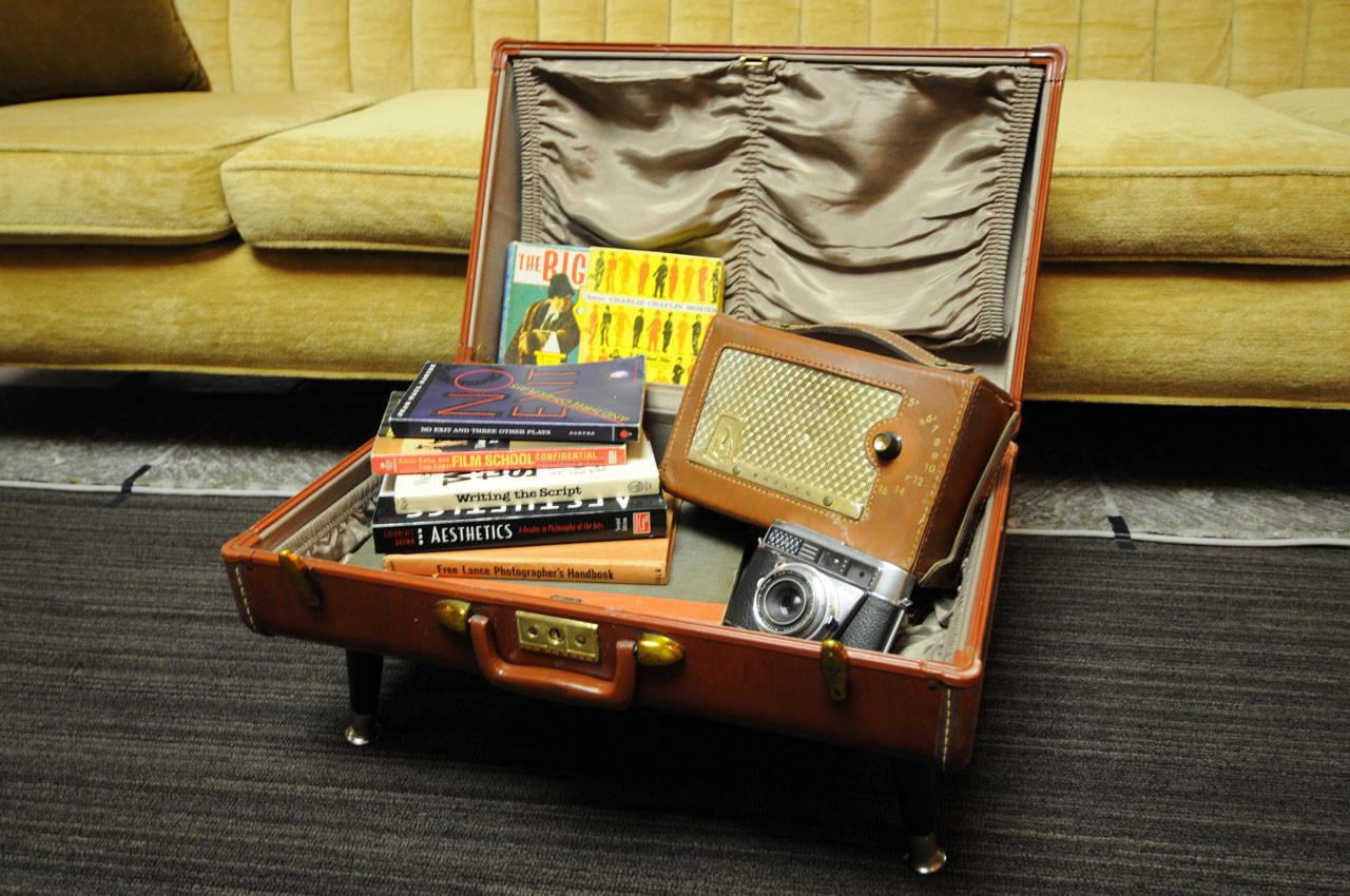 Vintage Suitcase Side Table Buildipedia