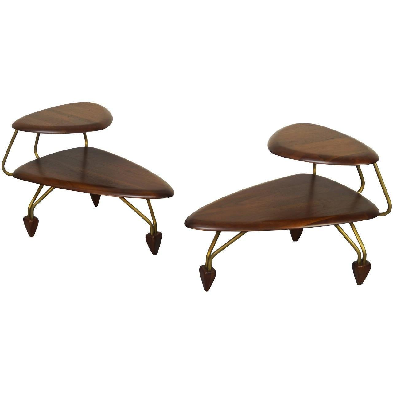 Vintage Surfboard Side Tables John Keal 1stdibs