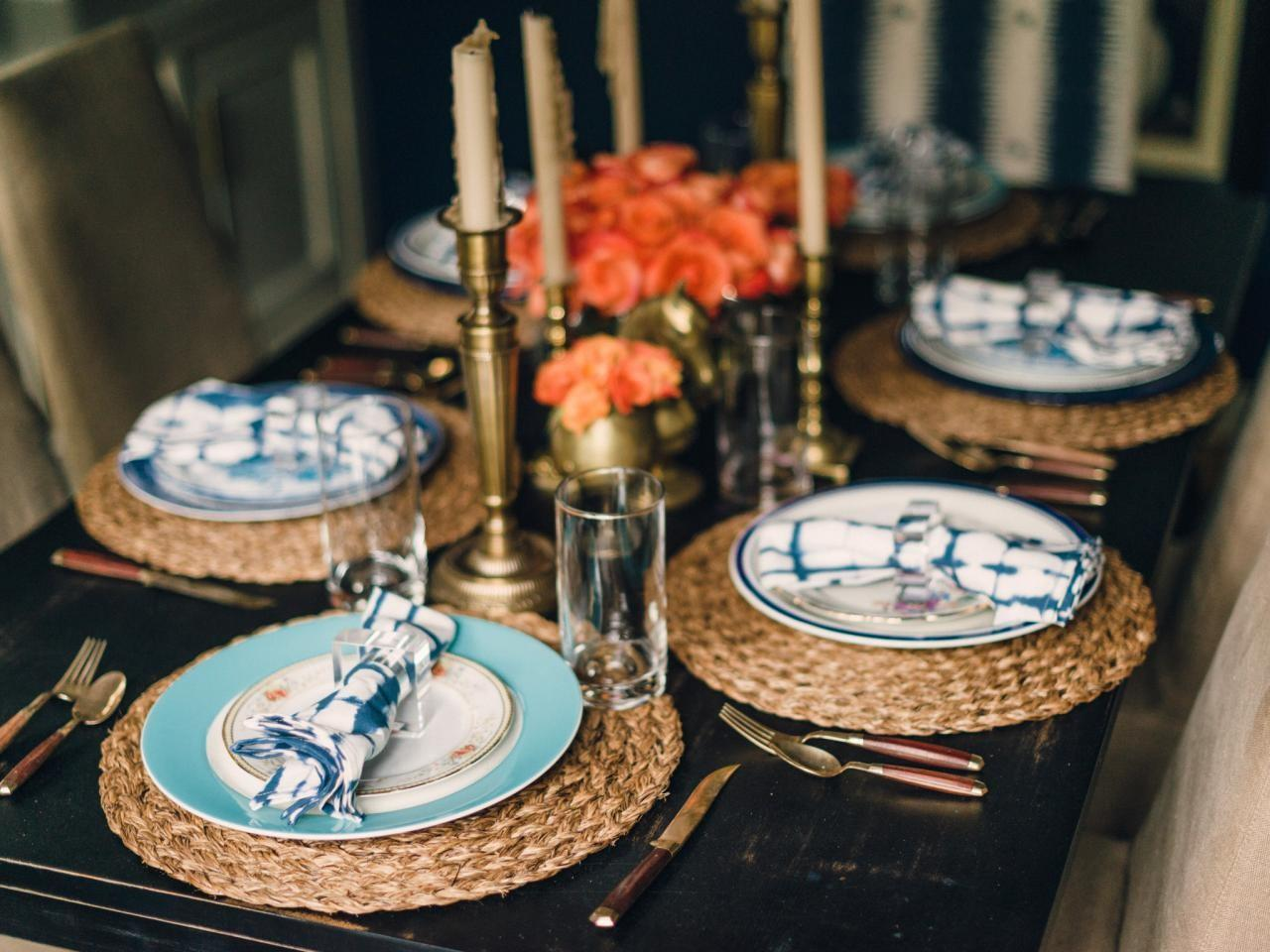 Vintage Table Setting Entertaining Ideas Party Themes
