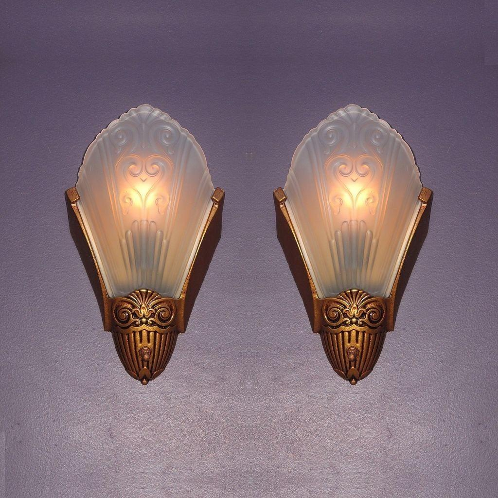 Vintage Wall Sconce Lighting Home Ideas Glass