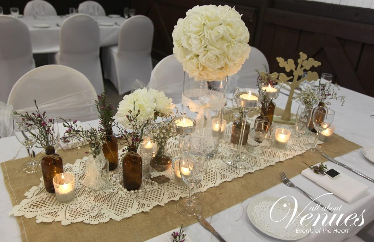 Vintage Wedding Table Decorations Gold Coast Dma Homes