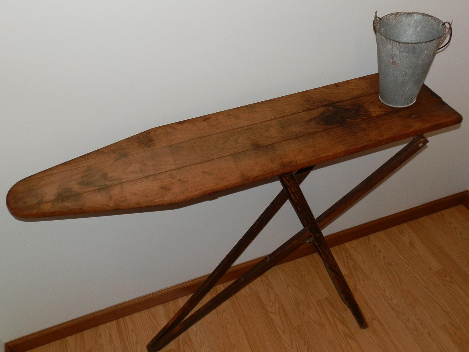 Vintage Wood Ironing Board Fuck Jeans