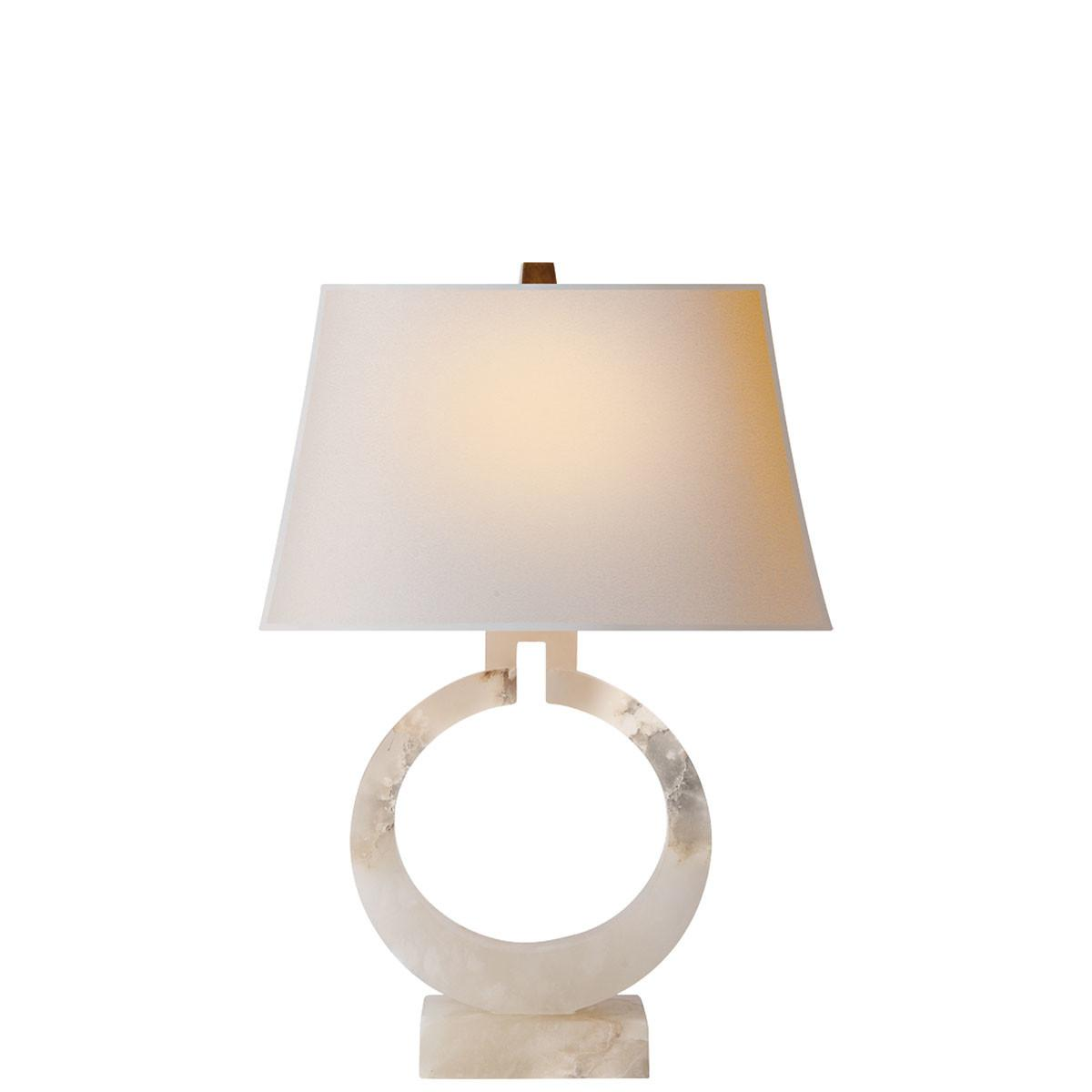 Visual Comfort Large Ring Table Lamps