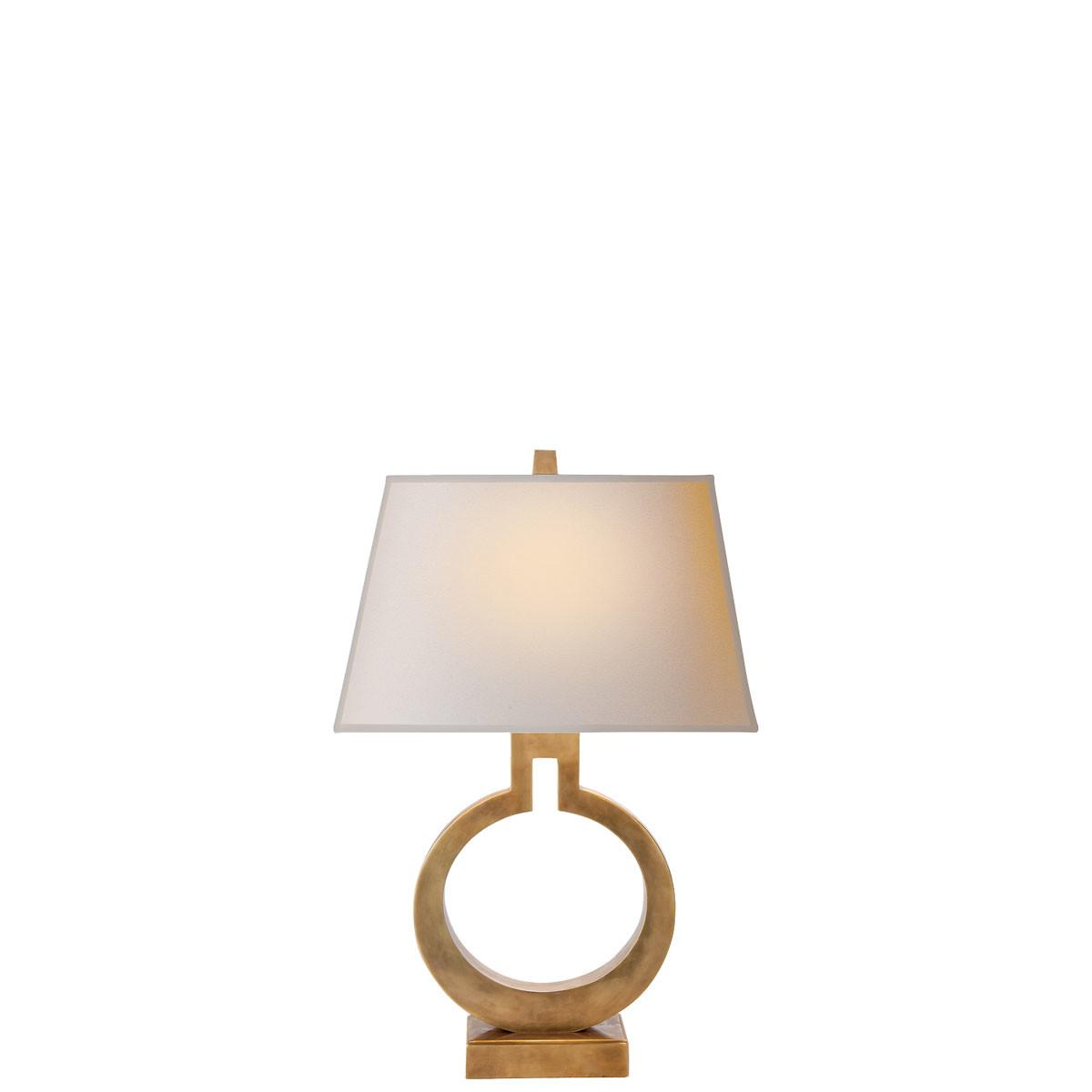 Visual Comfort Small Ring Table Lamps