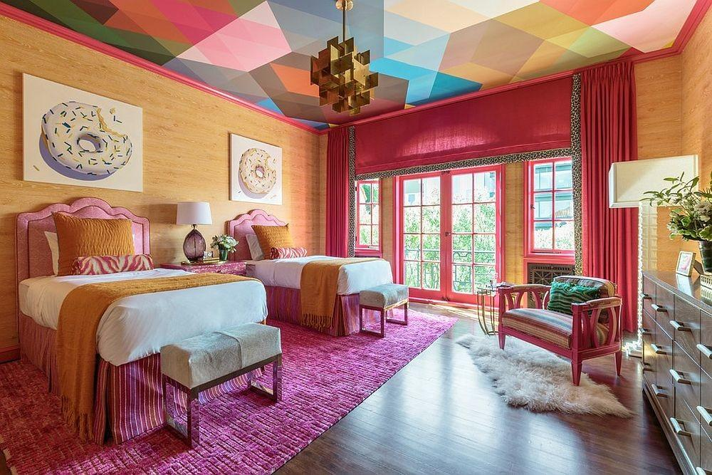 Visual Feast Rooms Magical Multicolored Ceilings