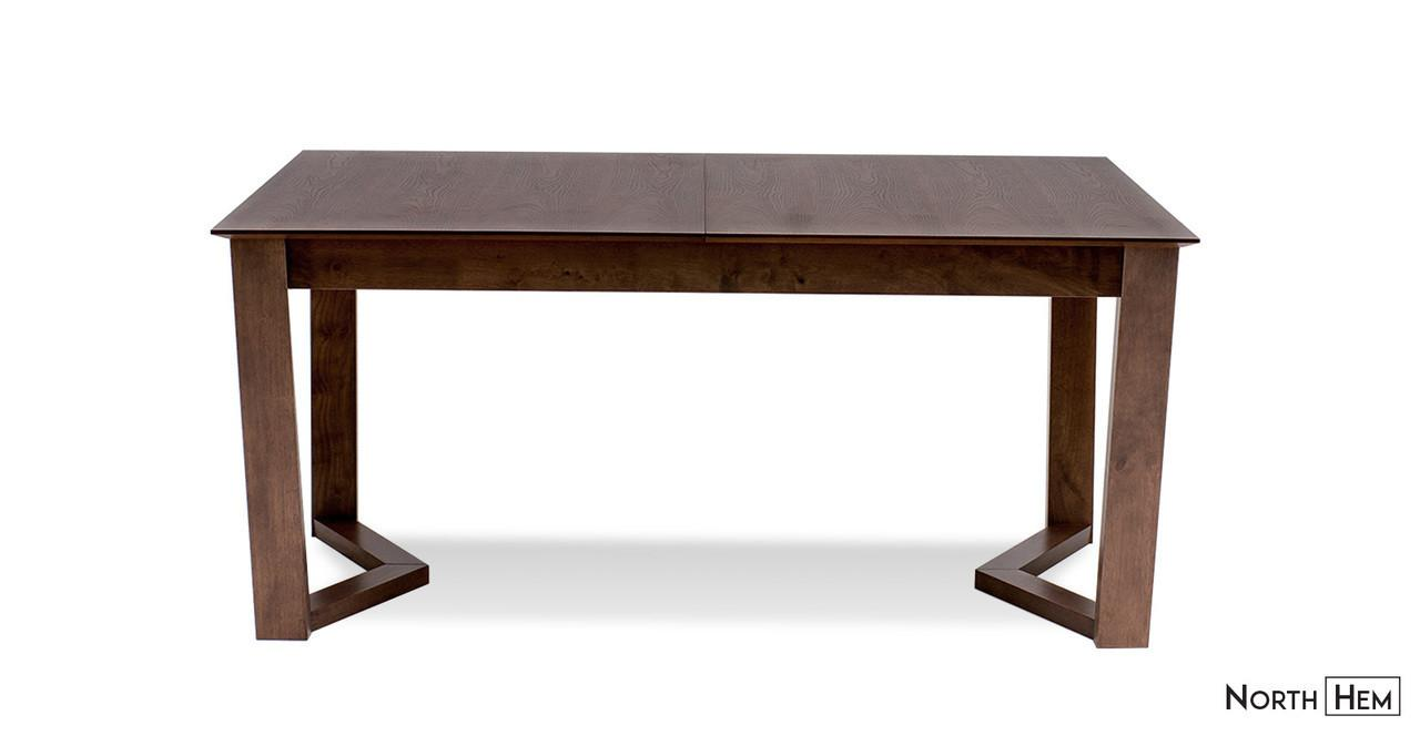 Vitas Expandable Wood Dining Table Walnut