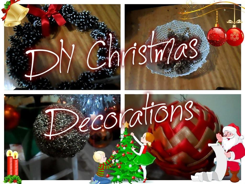 Vlogmas Diy Christmas Decorations Crafts