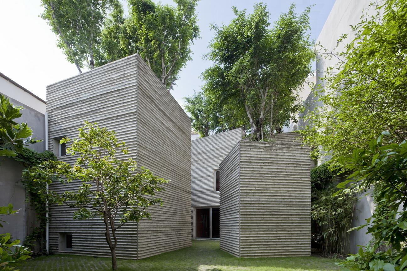 Vtn Trong Nghia Architects House Trees