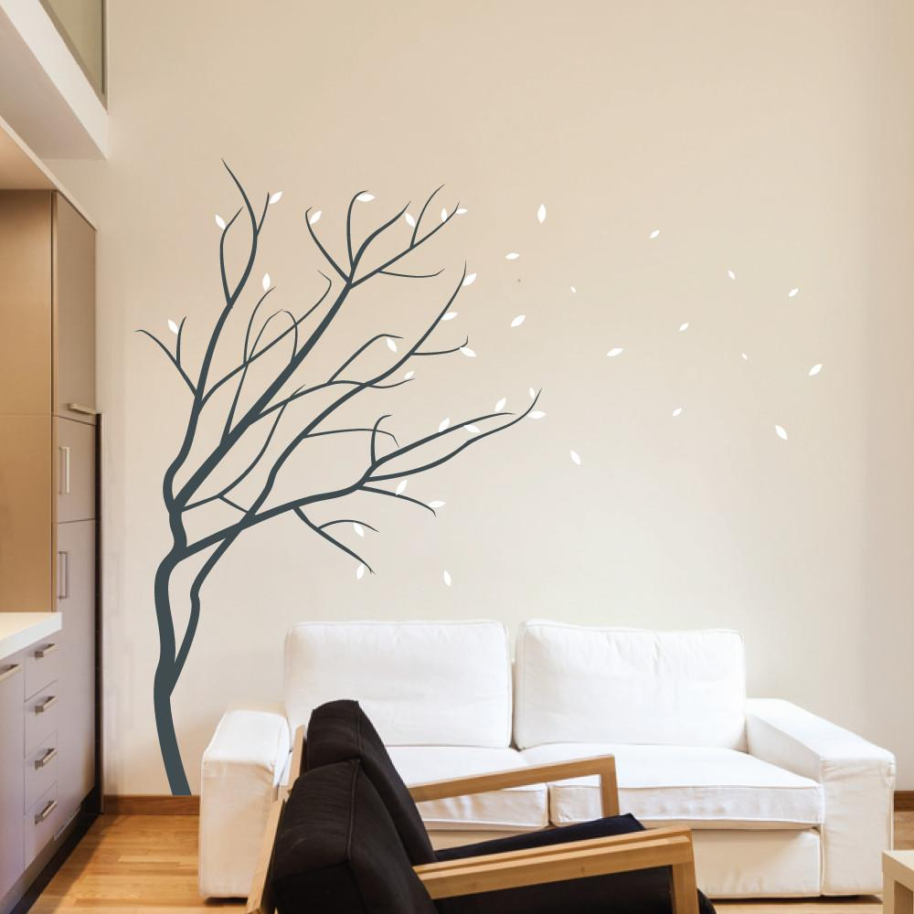 Wall Art Design Ideas Winter Season Blossom