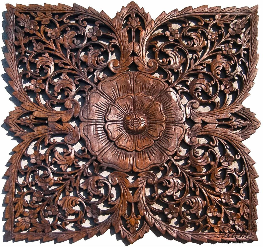 Wall Art Ideas Design Plaque Home Wood Carved
