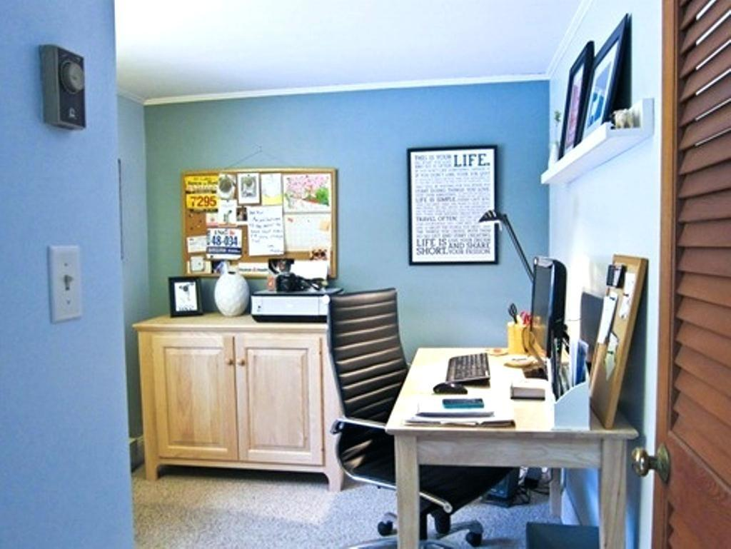 Wall Color Home Office Olive Crown