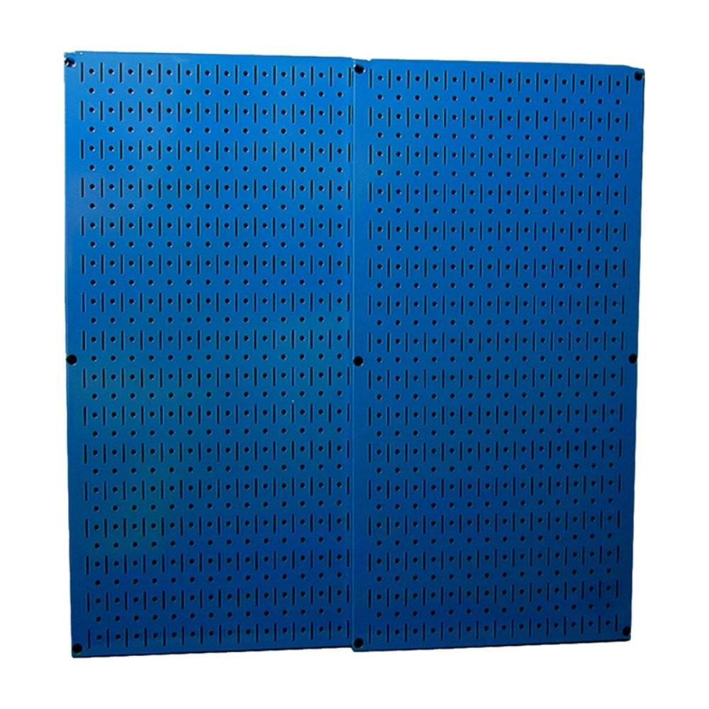 Wall Control Metal Tool Pegboard Pack Blue