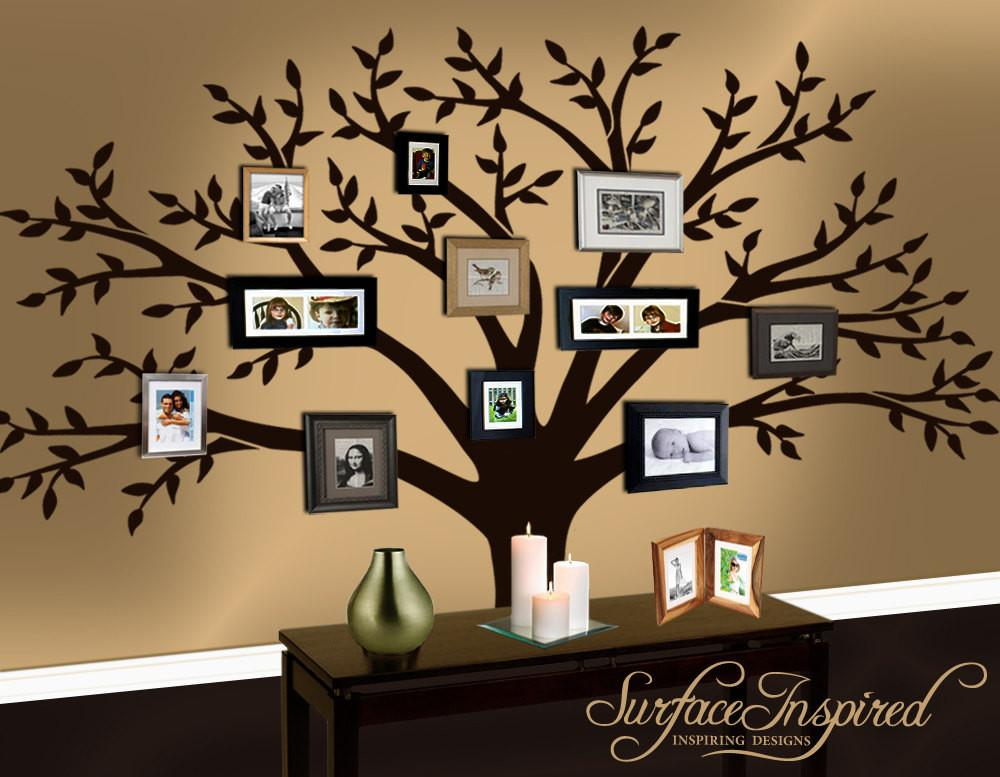Wall Decal Family Tree Surfaceinspired Etsy