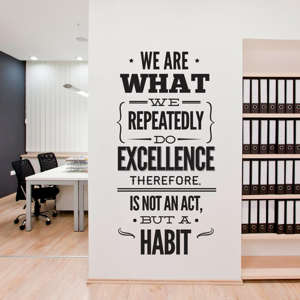 Wall Decal Quotes Typography Sticker