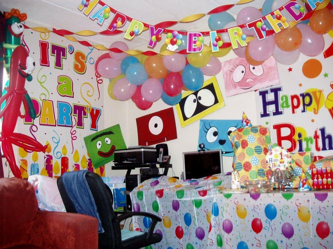 Wall Decoration Ideas Birthday Party Best Home