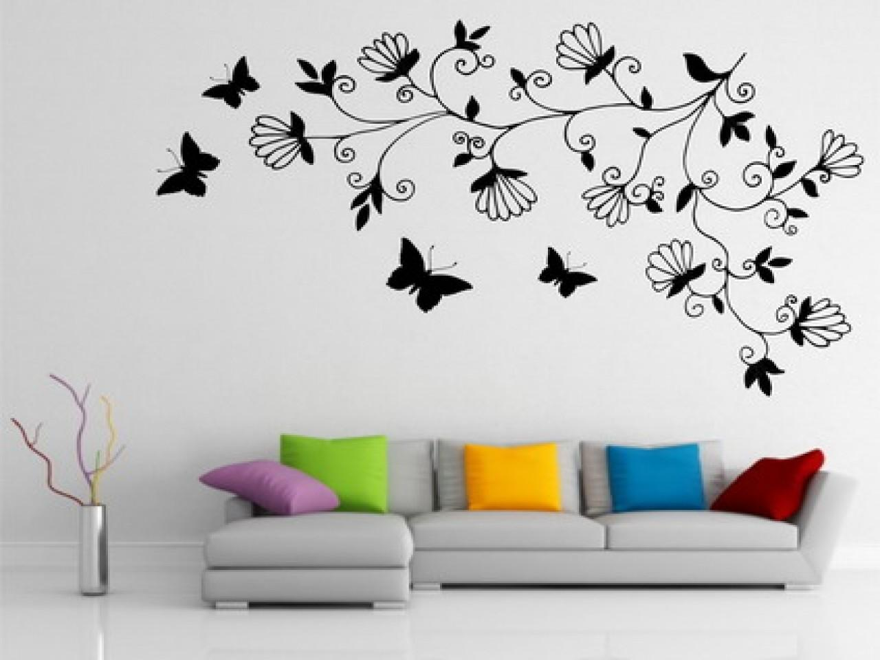 Wall Designs Bedroom Paint Easy Art Painting