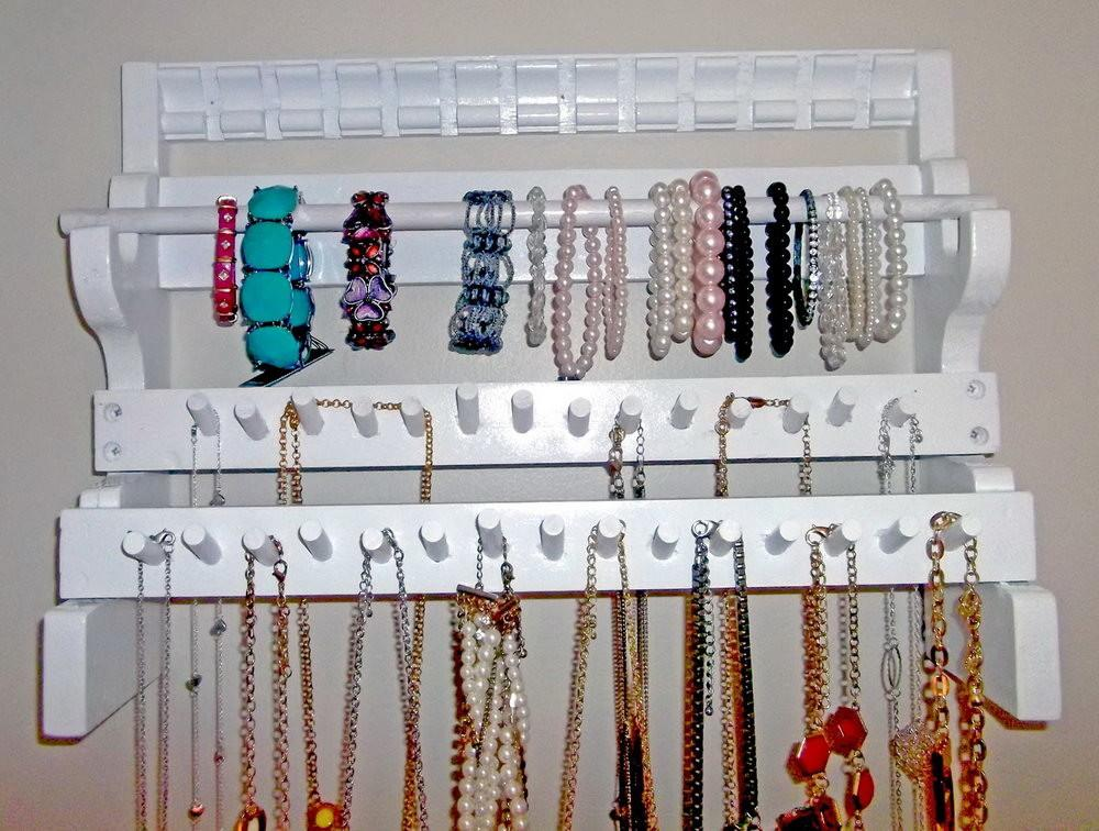 Wall Hanging Jewelry Organizer Diy Home Design Ideas