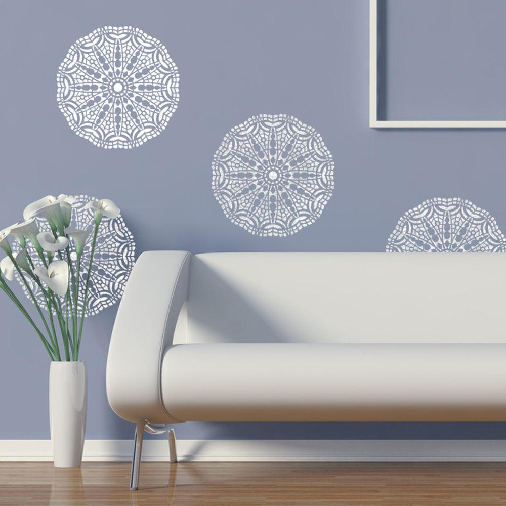 Wall Lace Decorative Stencil Talia Home Painting