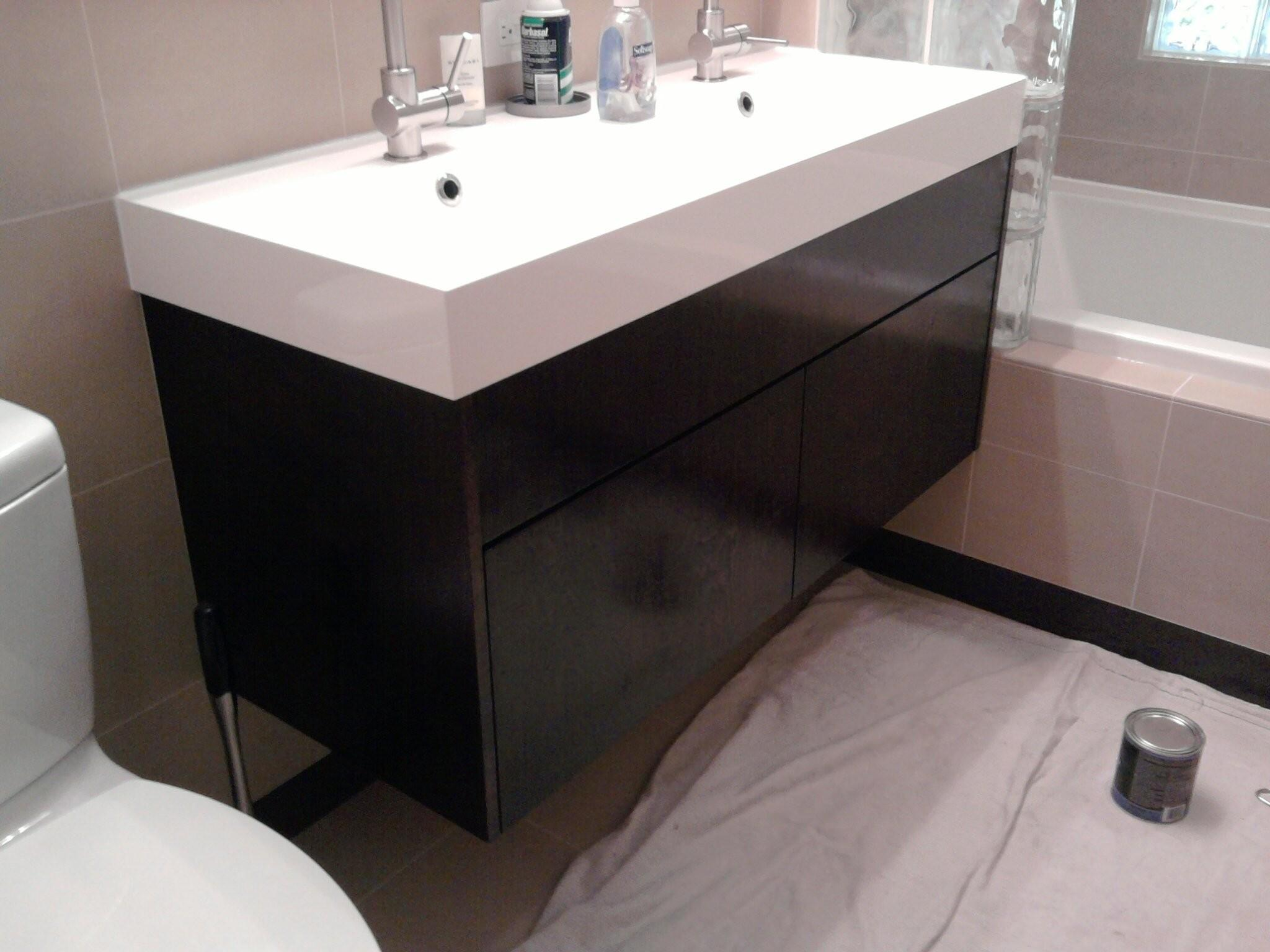Wall Mount Bathroom Sink Cabinet Modern
