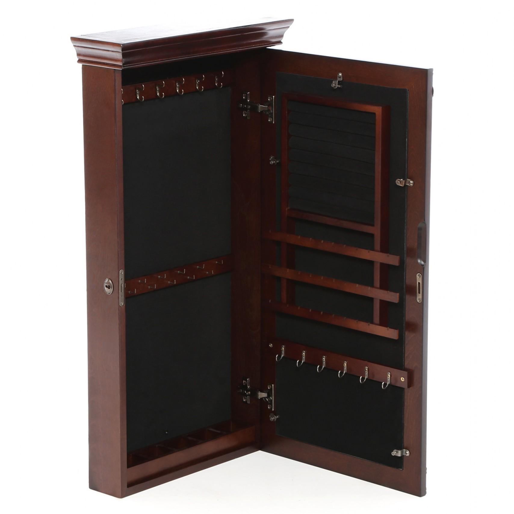 Wall Mount Jewelry Armoire Mirror Caymancode