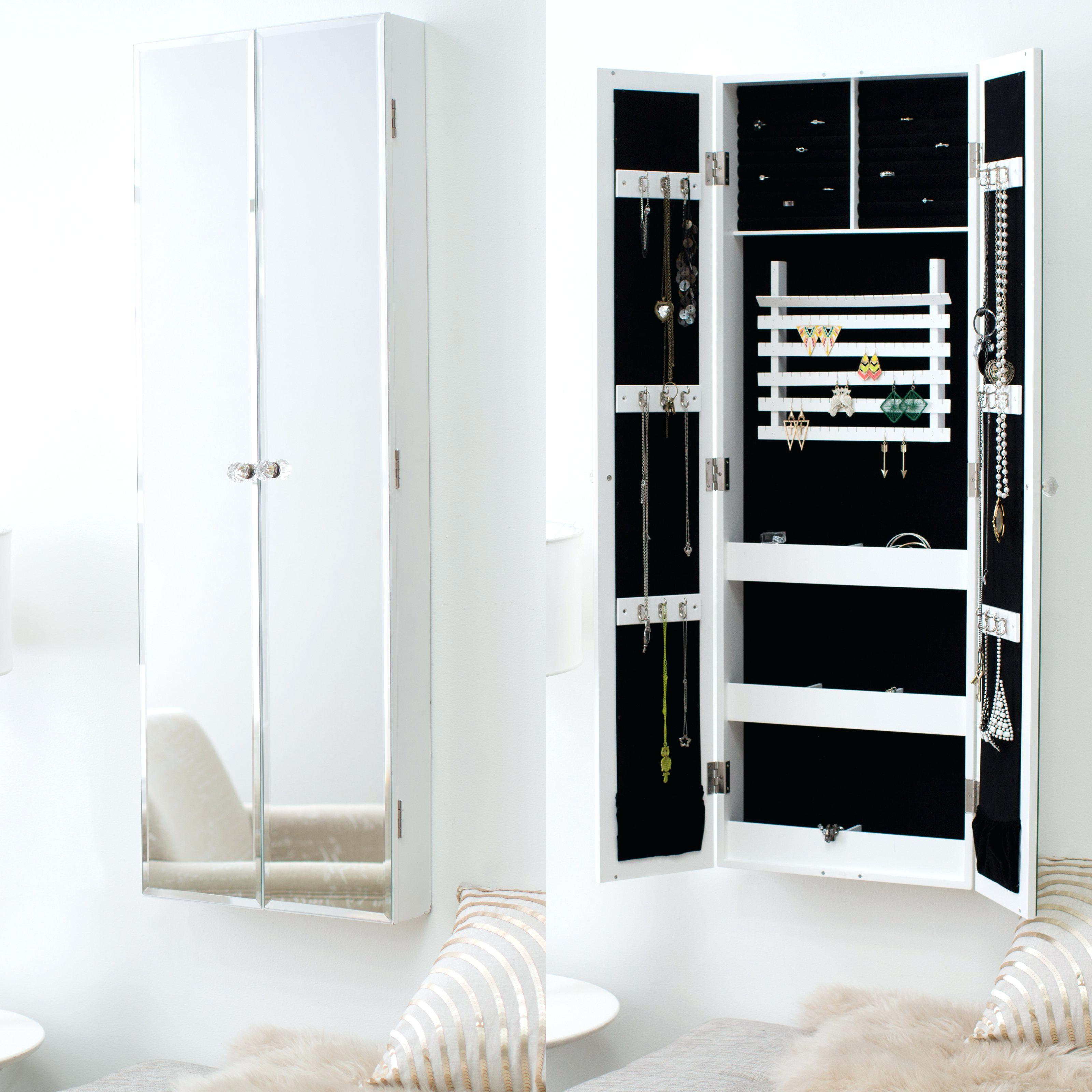 Image of: 36 Innovative Hidden Wall Mount Jewelry Armoire That Will Leave You Speechless In 2020 Awesome Pictures Decoratorist