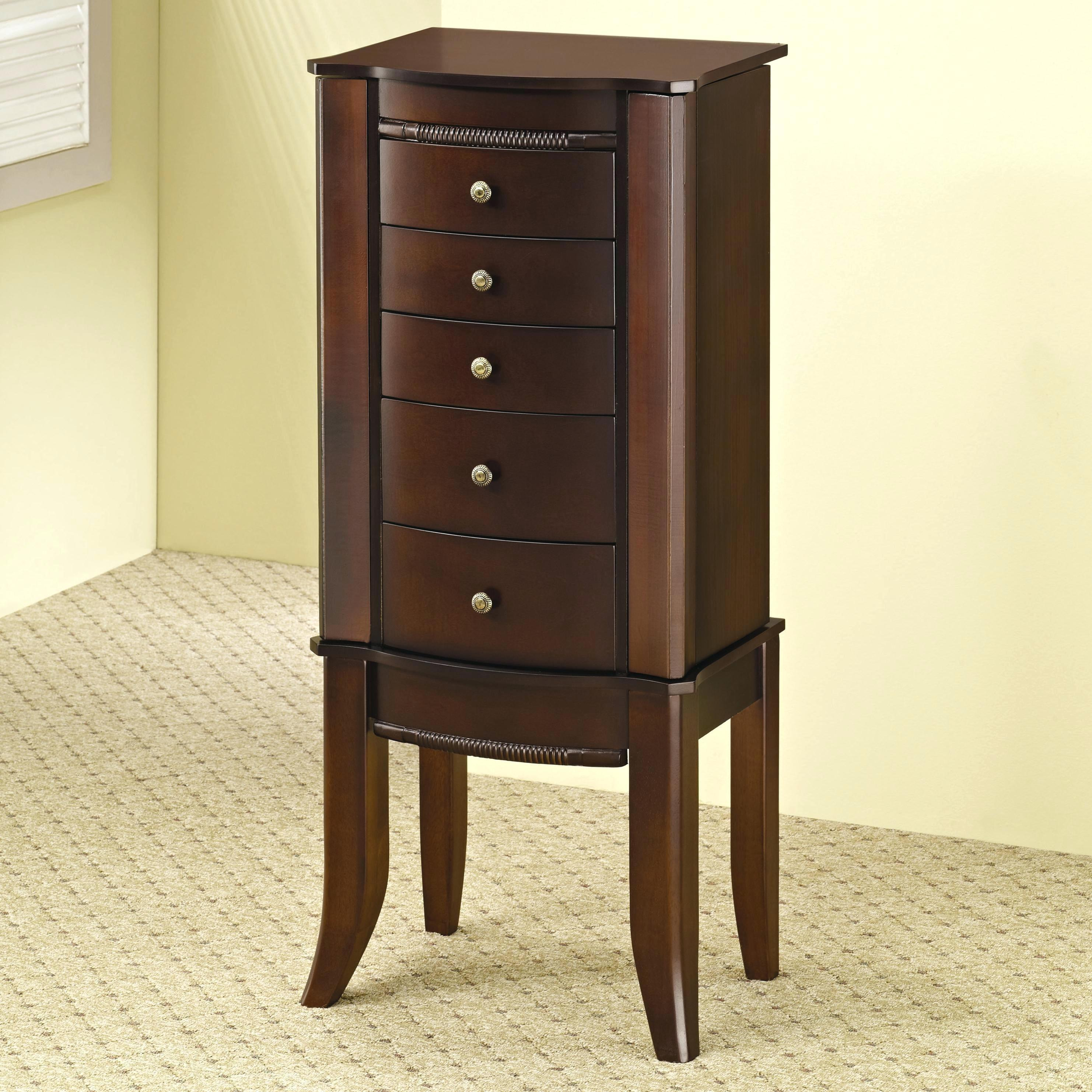 Wall Mount Jewelry Armoire Mounted Locking