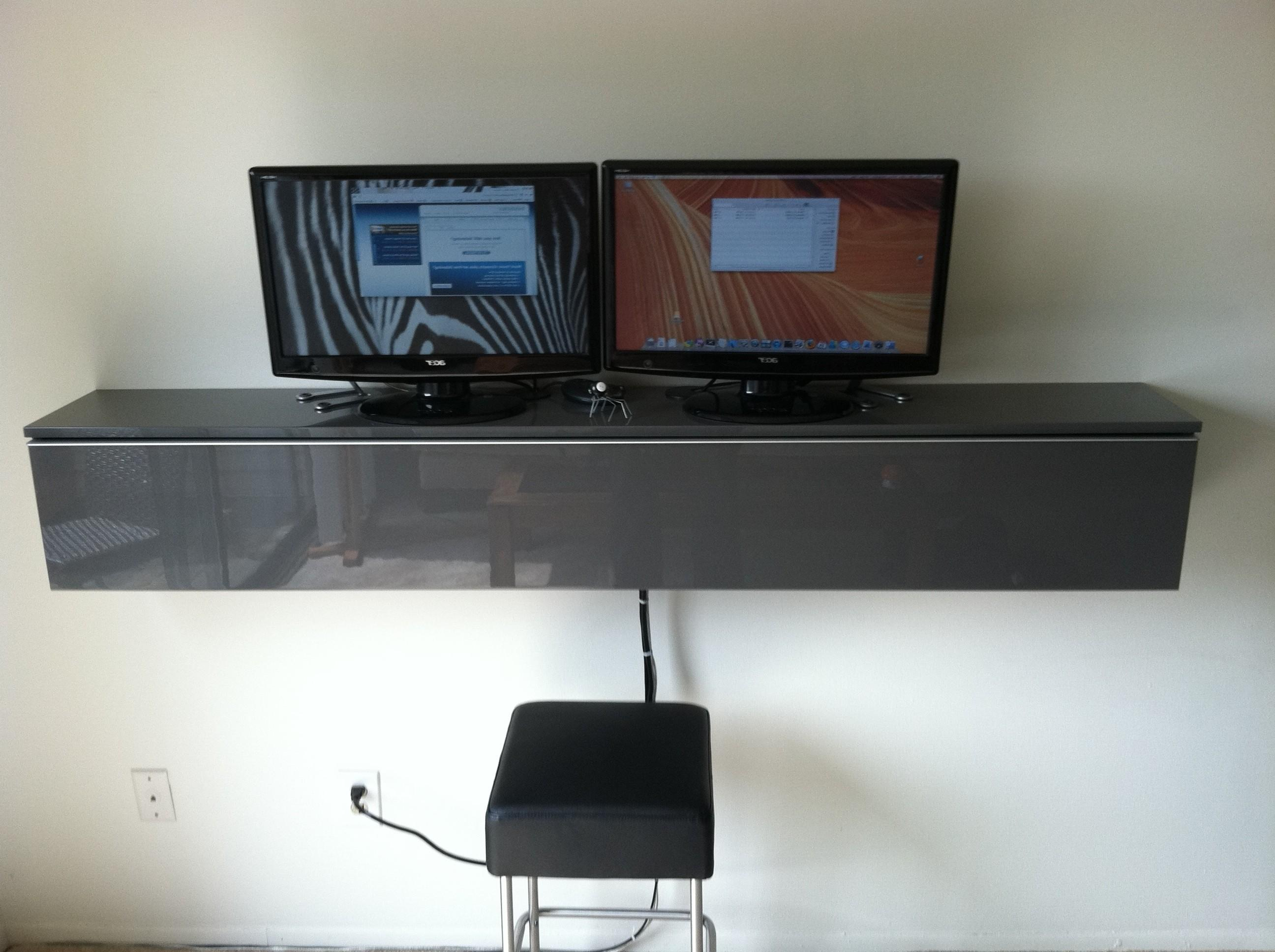 Wall Mounted Computer Desk Desks