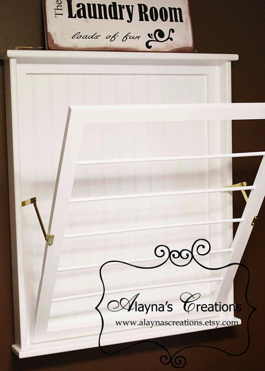 Wall Mounted Laundry Drying Rack