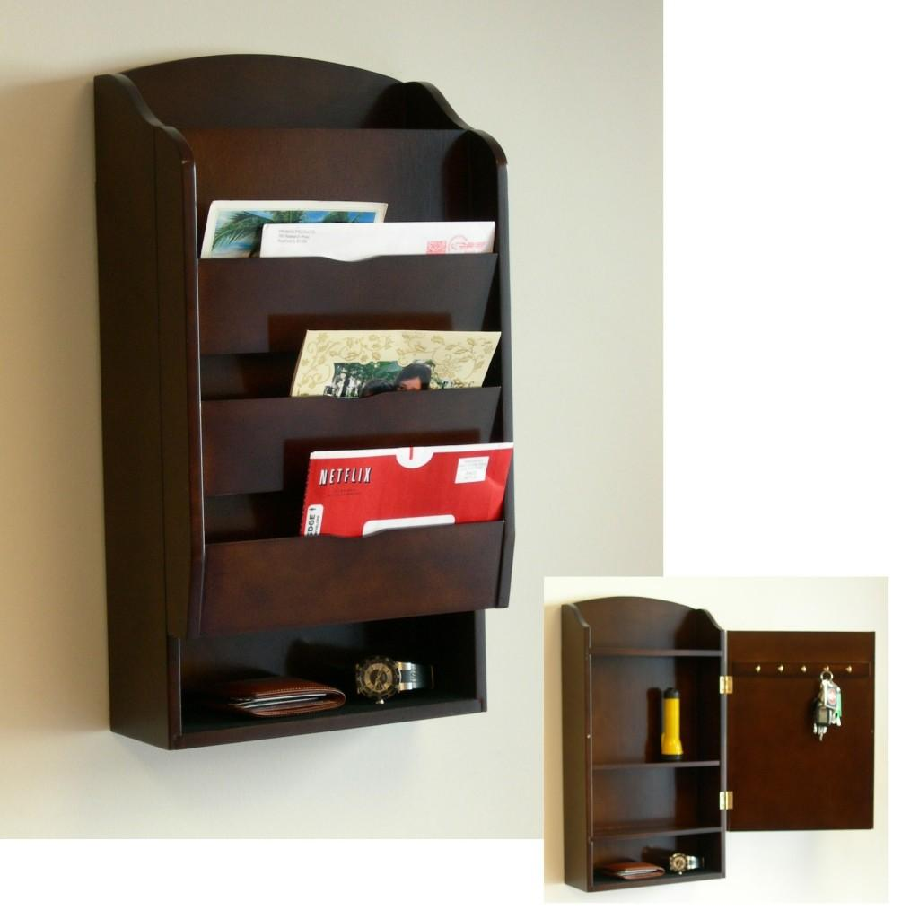 Wall Mounted Mail Organizer Best Storing Solution