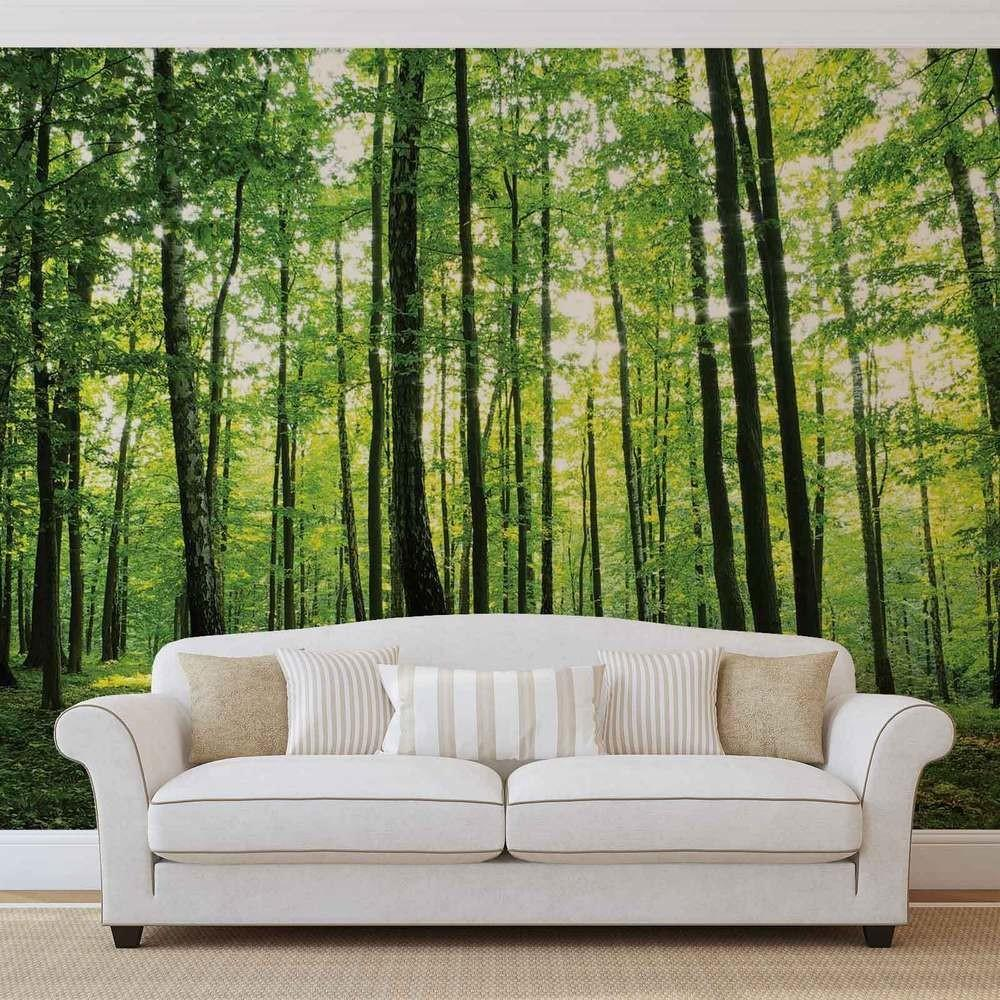 Wall Mural Xxl Flowers Forest Nature