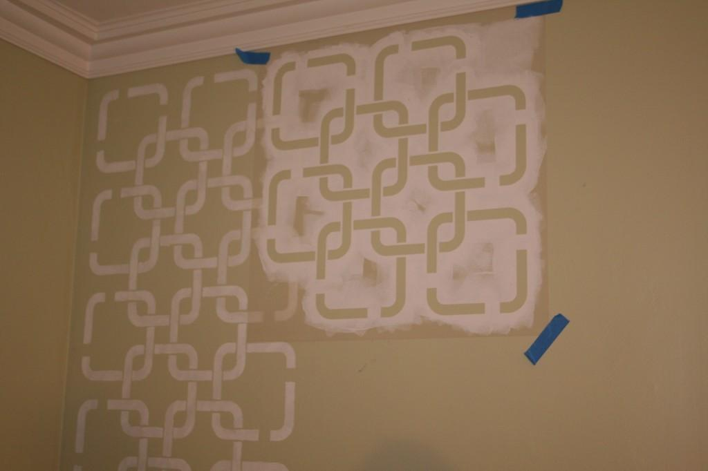 Wall Paint Stencils Geometric Exciting Make Your Own