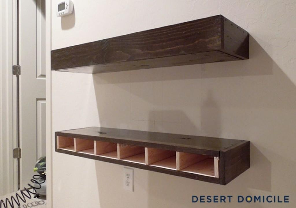 Wall Shelves Thick Floating Chunky