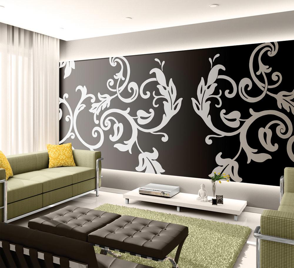Wall Stencil Ideas Living Room Dorancoins