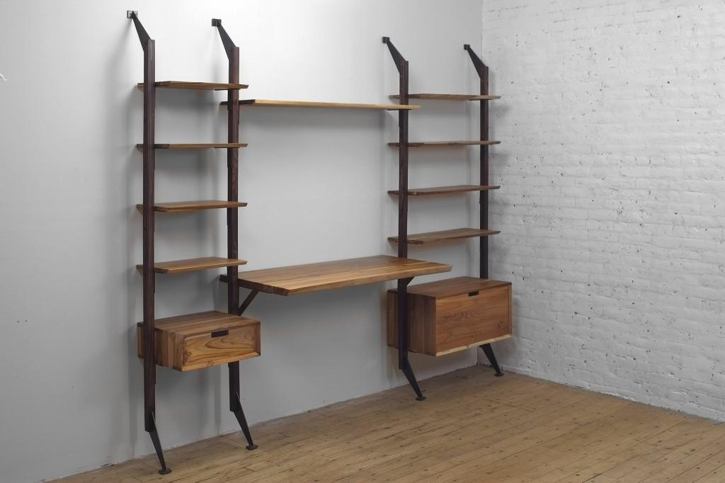 Wall Unit Desk Smart Storage Solution Home Office
