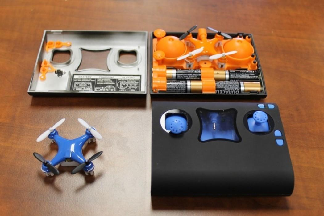 Wallet Sized Friendly Drone Kit Yanko Design