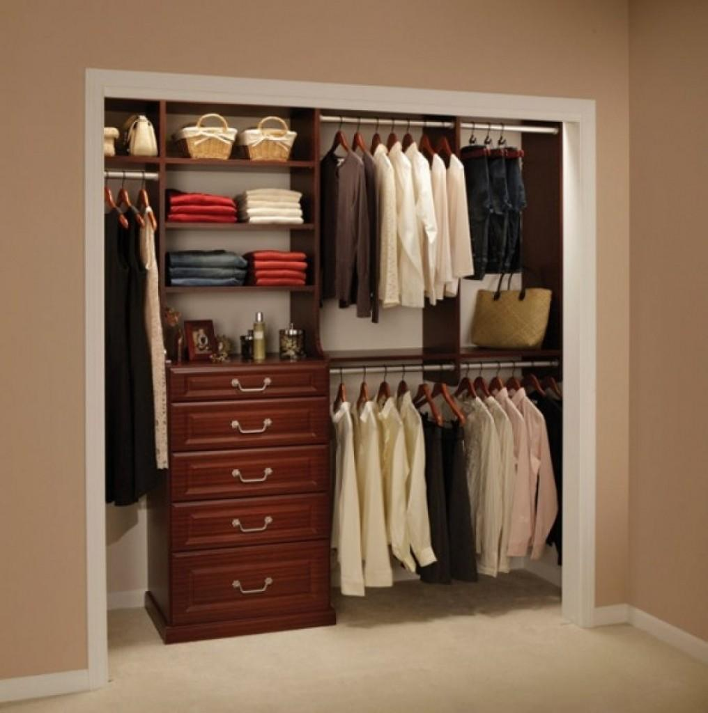 Wardrobes Small Spaces Home Design Interior