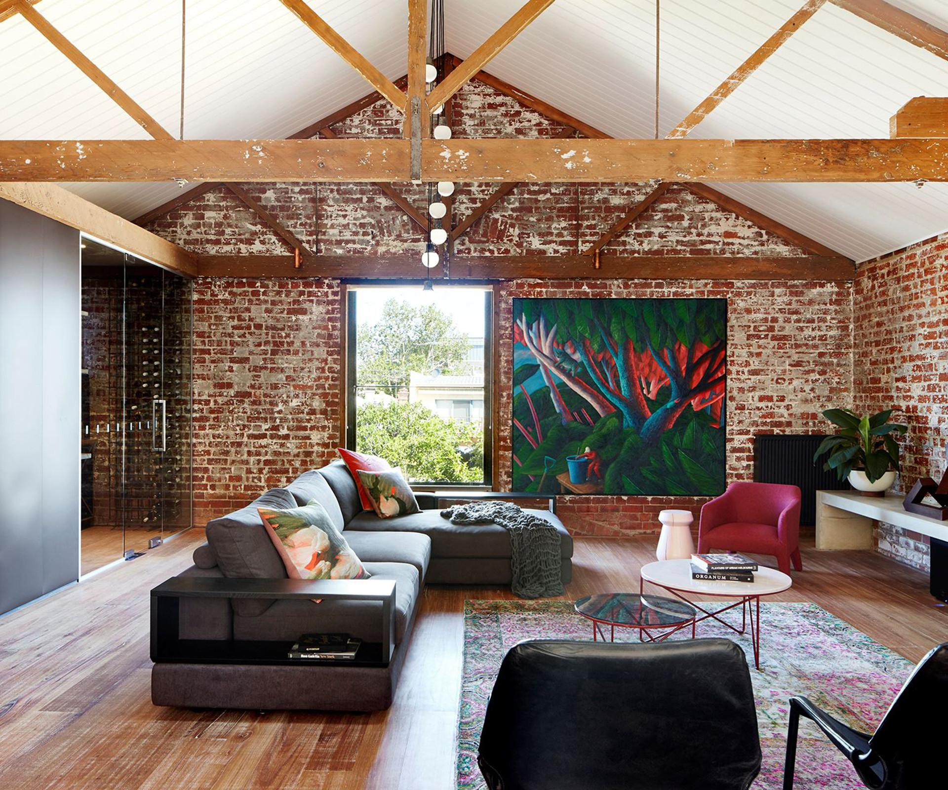 Warehouse Converted Into Warm Inviting Home