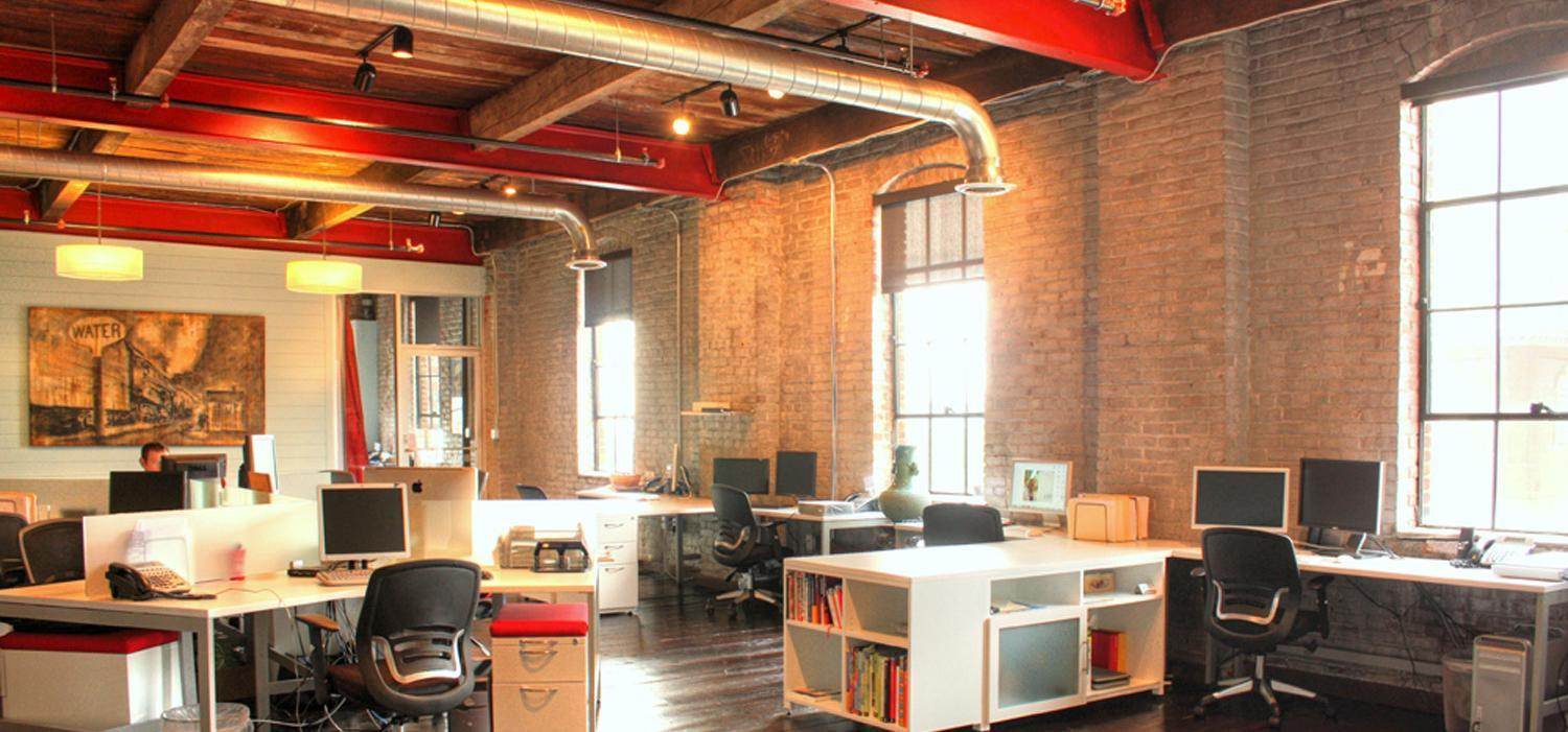 Warehouses Spaces Converted Into Office Space Manchester