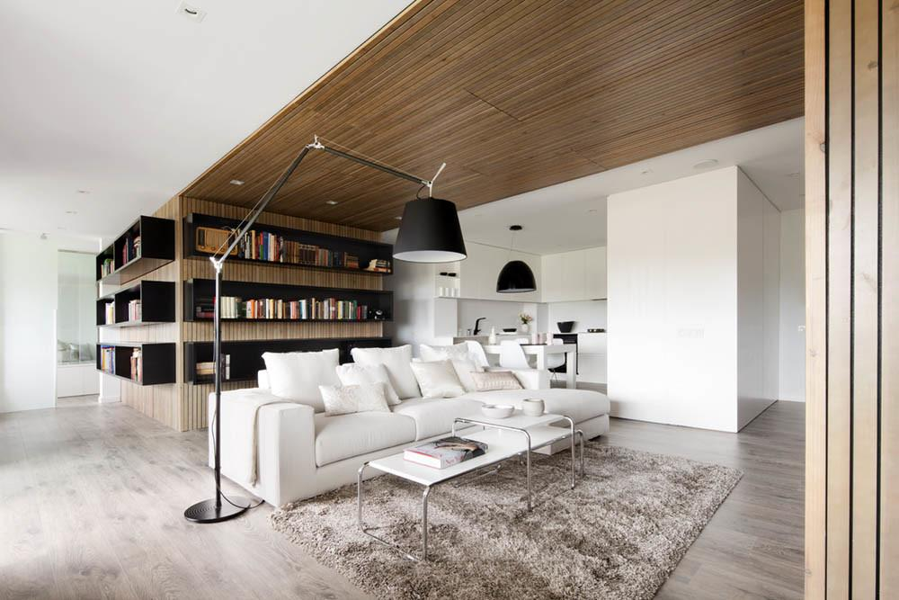 Warmth Wooden Apartment Based Barcelona Used