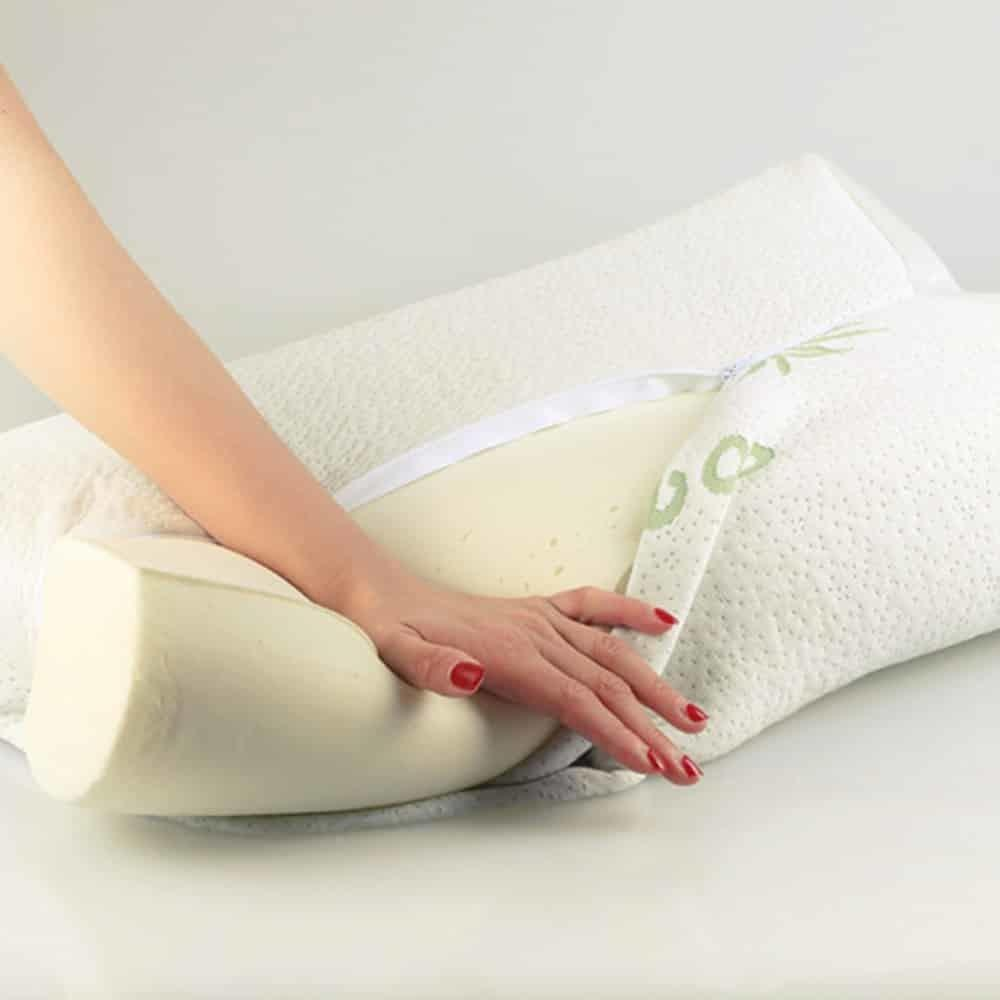 Wash Feather Pillows Memory Foam