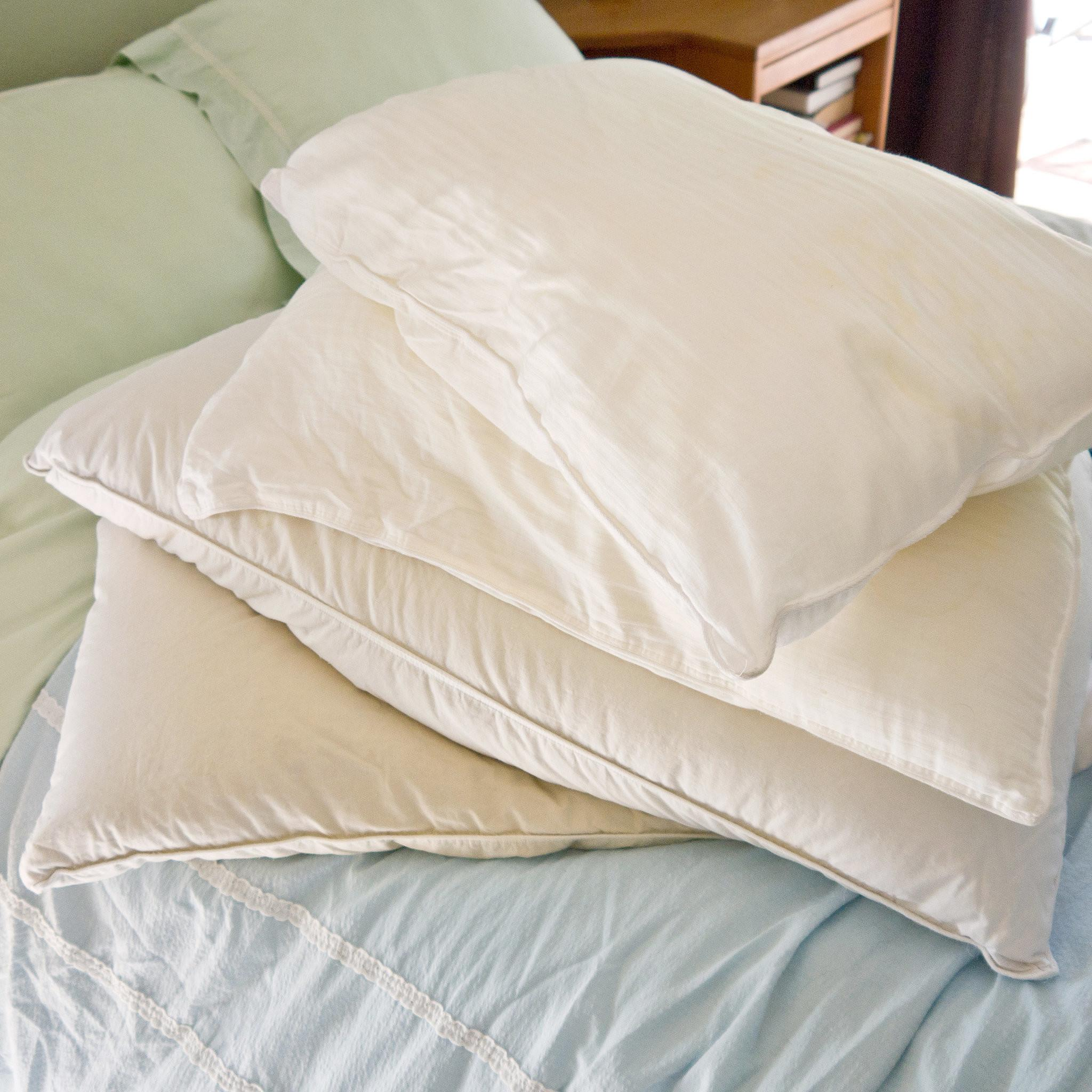 Wash Pair Pillows Together Which Keeps Machine