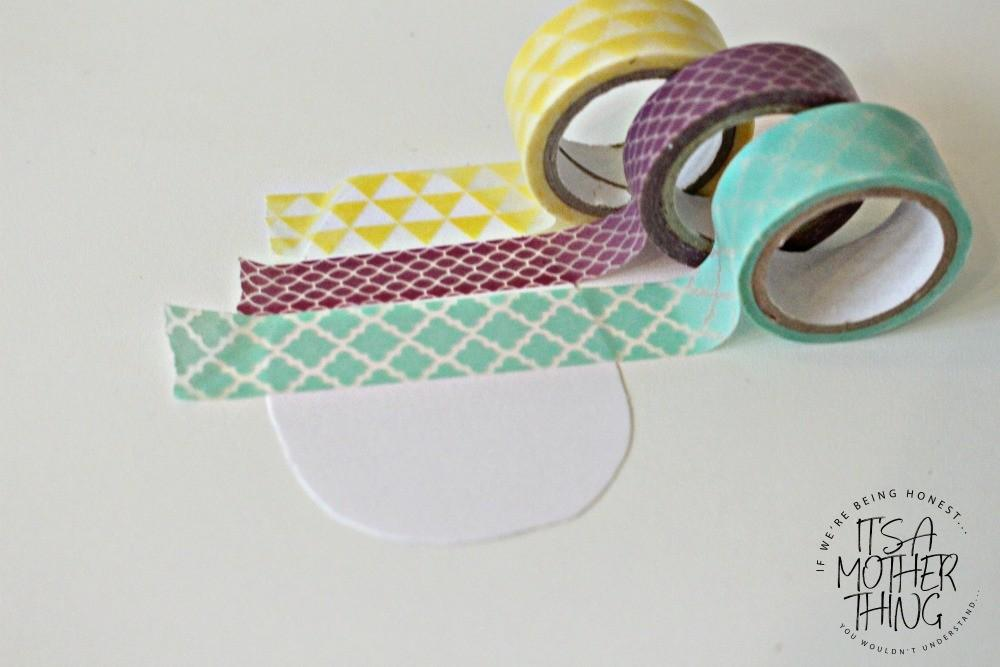 Washi Tape Easter Egg Garden Craft Mother Thing